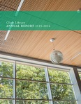 Clark Library Annual Report 2015-2016 by Clark Library