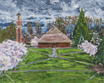 Chapel and Cherry Trees by Mark Ghyselinck CSC